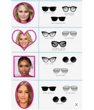 Chunky Hexagon Shaped Retro Black - Sunglasses by Chach