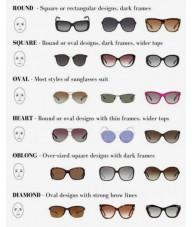 Blue Marble Sharp Cat Eye Sunglasses