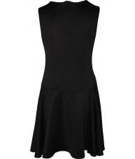 Fancy Black Scuba Dress
