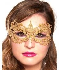 Gold Eye Mask Noble Masquerade Ball Costume