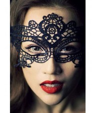Gorgeous Black Lace Imperial Eye Mask