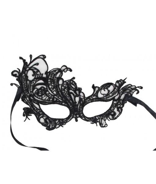 Black Lace Style Masquerade Mask