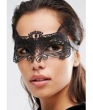 Sexy Black Lace Style Cat Mask