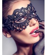 Amazing Black Lace Style Mardi Gras Mask