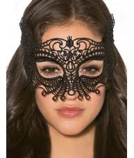 Black Masquerade Mask Falcon Style