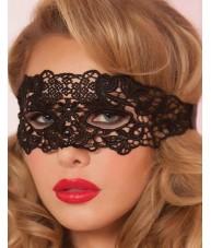 Enchanting Black Lace Style Eye Mask