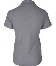 Women's Grey Polo Shirt