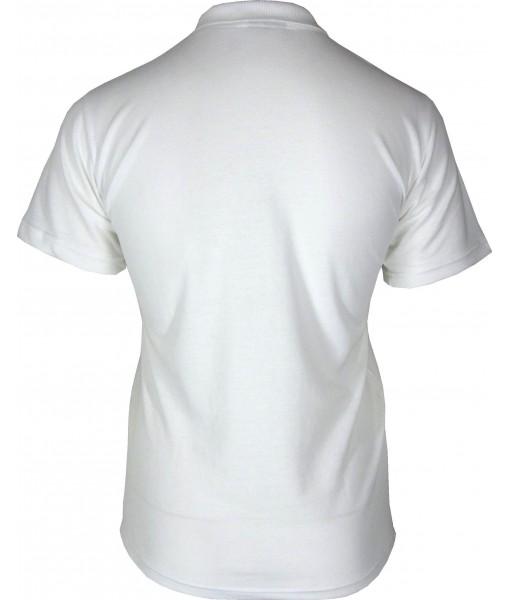 Women's White Polo Shirt