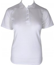 Women's White Polo Shirt