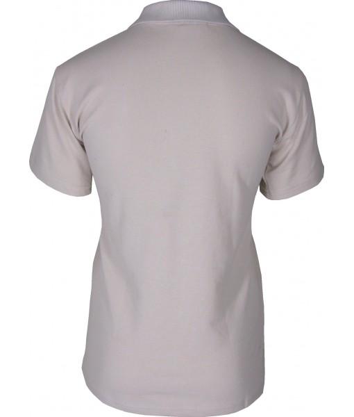 Women's Beige Polo Shirt
