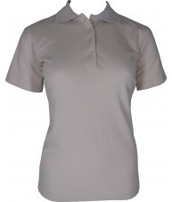 Women's Beige Polo Shirt