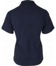 Women's Navy Polo Shirt