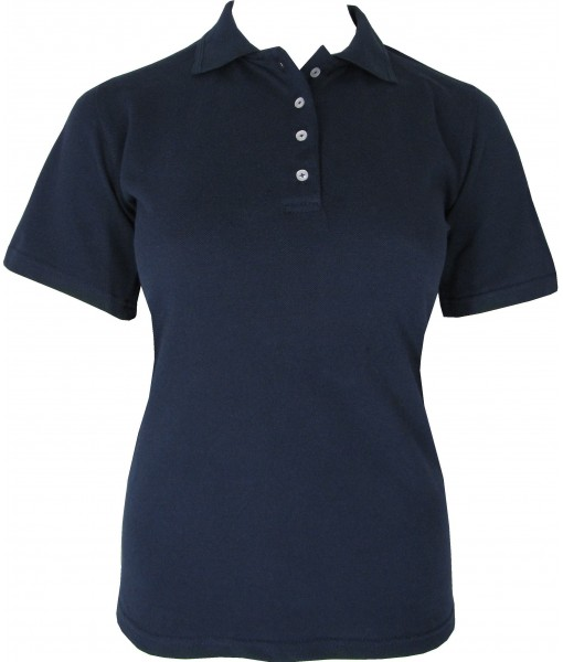 Women's Navy Polo Shirt