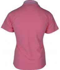 Women's Light Pink Polo Shirt