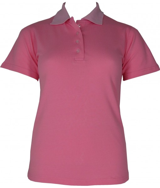 Women's Light Pink Polo Shirt