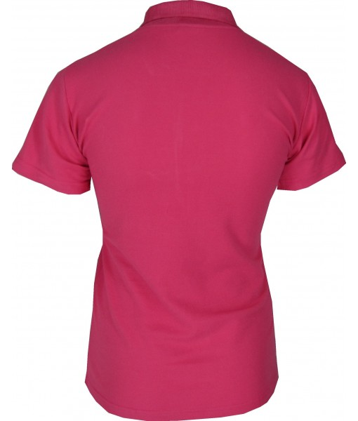 Women's Dark Pink Polo Shirt
