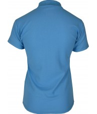 Women's Light Blue Polo Shirt