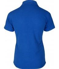 Women's Dark Blue Polo Shirt