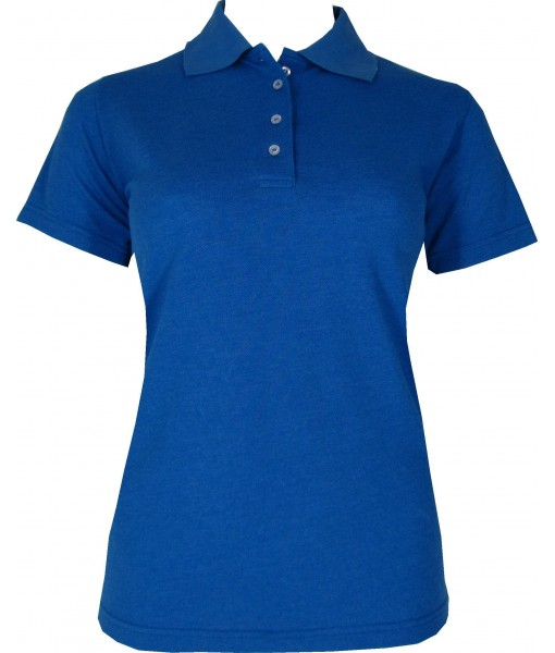 Women's Dark Blue Polo Shirt