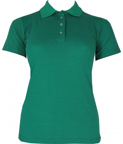 Women's Light Green Polo Shirt
