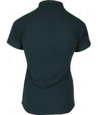 Women's Dark Green Polo Shirt