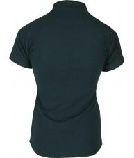 Women's Dark Green Polo Shirt