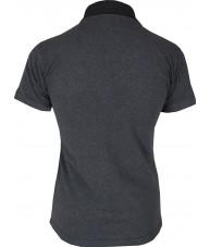 Women's Dark Grey Polo Shirt
