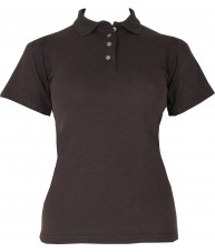 Women's Brown Polo Shirt