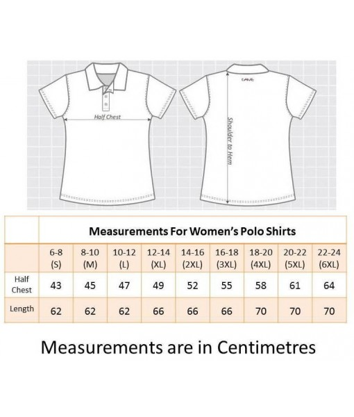 Women's Grey Polo Shirt