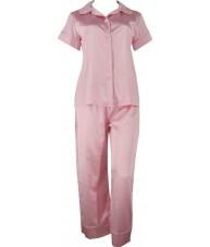 Pink Satin Pyjamas Autumn / Spring