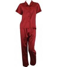 Red Satin Pyjamas Spring / Autumn