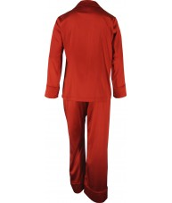 Red Satin Pyjamas Winter