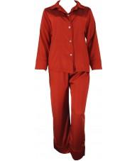 Red Satin Pyjamas Winter