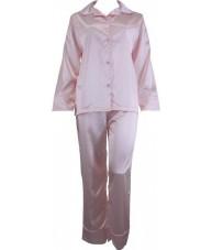Pink Satin Pyjamas Winter