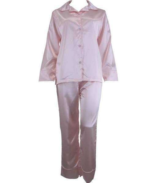 Pink Satin Pyjamas Winter