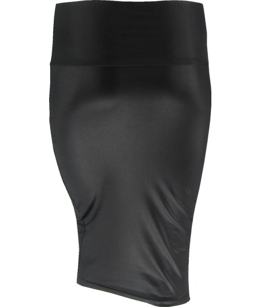 Black Pin Up Pencil Skirt