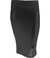 Black Pin Up Pencil Skirt