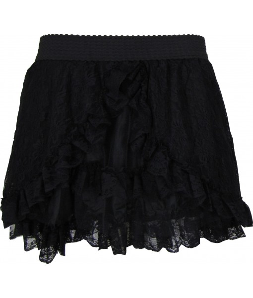 Thigh Length Burlesque Bustle Skirt
