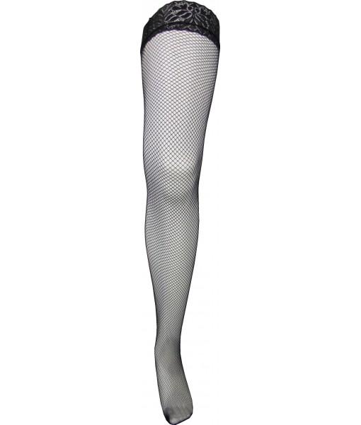 Medium Weave Black Fishnet Stockings