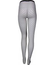 Black Fishnet Stockings Full Length Medium Weave
