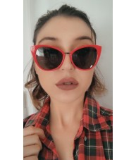 Subtle Red Cateyes - Ladies Sunglasses by Chach