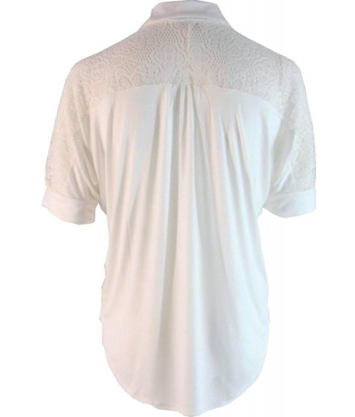 Ivory Button Up Knit Shirt