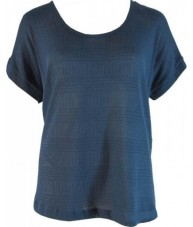 Indigo Blue Casual Knit Top