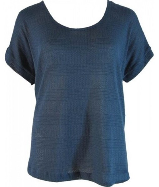 Indigo Blue Casual Knit Top